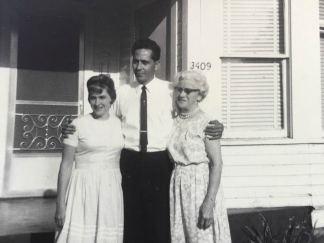 1959 - MLS founders, Rev. Louis and Dorothea Escobedo and mother Gertrude